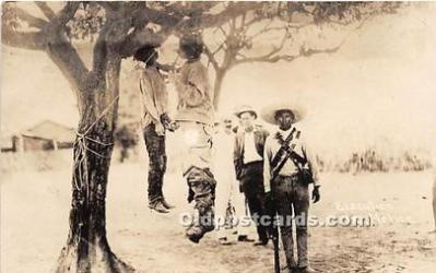 Hanging Execution in Mexico, Mexican War