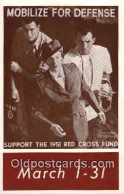 red001041 - Artist Norman Rockwell, Red Cross Postcard Postcards
