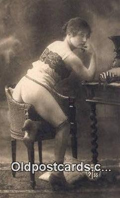 repro1300 - Reproduction # 127 Nude Postcard Post Card