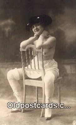 repro1351 - Reproduction # 58 Nude Postcard Post Card