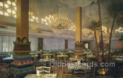 res001461 - Riviera Beach Florida USA Creightons International Restaurant Old Vintage Antique Postcard Post Cards