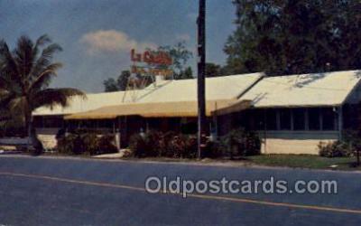 res001476 - Miami Florida USA La Casita Tea Room Old Vintage Antique Postcard Post Cards