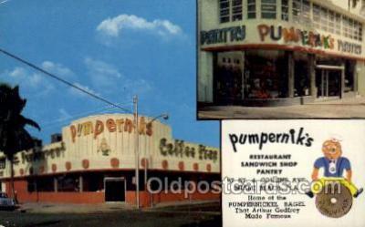 res001529 - Miami Beach, FL USA Pumperniks Old Vintage Antique Postcard Post Cards