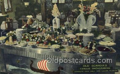 res001609 - Opa Locka Florida USA Linen Postcard Old Scandias Old Vintage Antique Post Cards