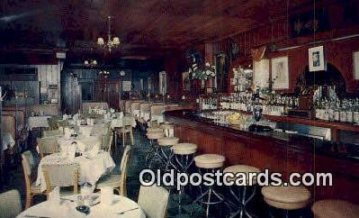 res050239 - Sevilla Restaurant Restaurant, New York City, NYC Postcard Post Card USA Old Vintage Antique