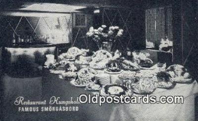 res050310 - Restaurant Kungsholm Restaurant, New York City, NYC Postcard Post Card USA Old Vintage Antique
