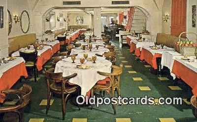 res050321 - Louise Jr. Restaurant, New York City, NYC Postcard Post Card USA Old Vintage Antique