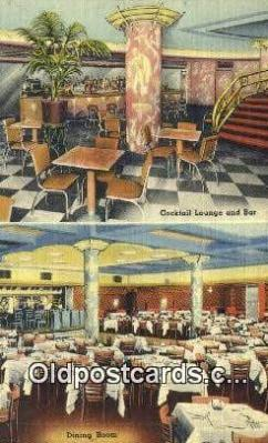 res050351 - Linen, Zimmerman's Hungaria Restaurant, New York City, NYC Postcard Post Card USA Old Vintage Antique