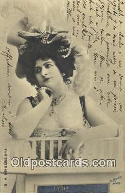 reu001081 - S.I.P. 55 Series No14 Reutlinger Postcard Postcards