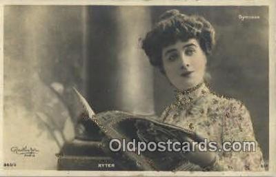 reu001141 - Paris, Nina D'asty Reutlinger Postcard Postcards