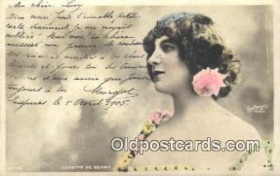 reu001149 - Paris, Lucette Berny Reutlinger Postcard Postcards