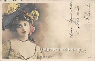 Theater Edwardian Lady Manon Loti