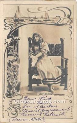 reu001269 - Reutlinger Photography Postcard