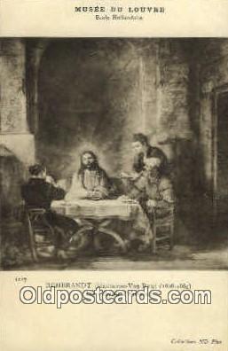 rgn001178 - Artist Rembrant, religion, religious, Postcard Postcards