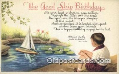The Good Ship birthday