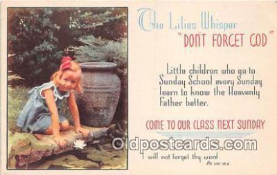 rgn100435 - Religion Postcard