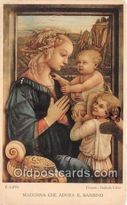 Madonna Che Adora Il Bambino