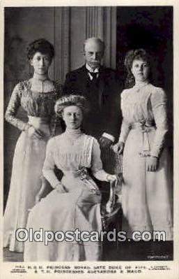 Princess Royal, Duke of Fife, & children