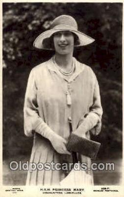 roy001009 - Princess Mary British Royalty Postcard Postcards
