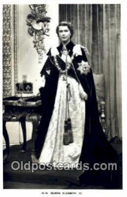 roy001060 - Queen Elizabeth II British Royalty Postcard Postcards