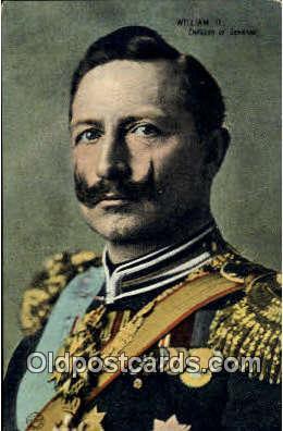 roy001096 - William II Royalty Postcard Postcards