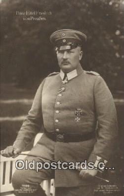 Prinz Eitel Friedrich Von Preuben