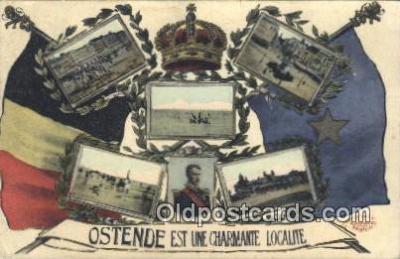 roy050055 - Ostende Est Une Charmante Localite Misc. Royalty & Leaders Postcard Postcards