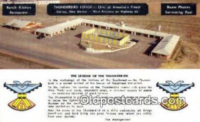 Thunderbird Lodge, Gallup, NM, USA