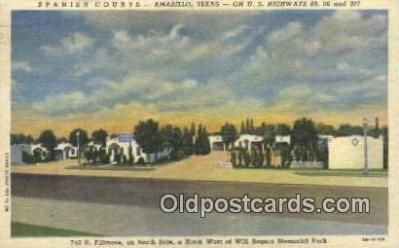rts001027 - Amarillo, Texas, Usa Route 66 Postcard Postcards