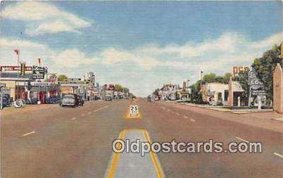 Linen, Highway US 66