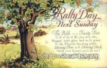 rad001023 - Rally Day, Days Postcard Postcards