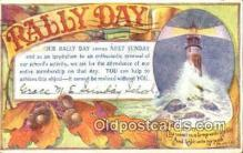 rad001041 - The world is a lampPS 119:105 Rally Day, Days Postcard Postcards