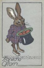 rbt017 - Rabbit Postcard Postcards