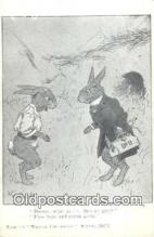 rbt018 - Rabbit Postcard Postcards