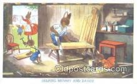 rbt028 - Rabbit Postcard Postcards