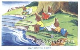 rbt029 - Rabbit Postcard Postcards