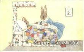 rbt031 - Artist Margaret Tempest Rabbit Postcard Postcards