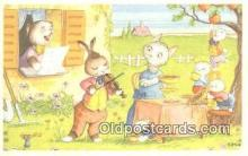 rbt034 - Rabbit Postcard Postcards