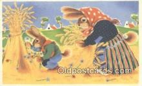 rbt035 - Rabbit Postcard Postcards
