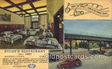 rds001005 - Marshalltown, Iowa USA Road Side Stone's Restaurant Road Side Postcard Post Cards
