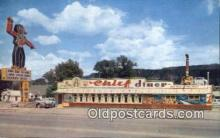 rds001009 - Durango, Colorado USA The Chief Diner Road Side Postcard Post Cards