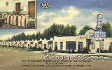 rds001011 - Oklahoma City, Oklahoma USA Odom Annex Courts Road Side Postcard Post Cards