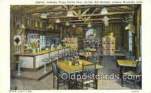 rds001012 - Buffalo Bill Museum, CO USA Interior, Pahaska Tepee Coffee Shop Road Side Postcard Post Cards