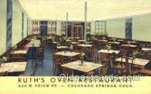 rds001017 - Colorado Springs, CO USA Ruth's Oven Restaurant Road Side Postcard Post Cards