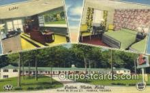 rds001021 - Fairfax, Virginia USA Patton Motor Hotel Road Side Postcard Post Cards