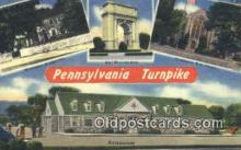 rds001041 - Pennsylvania Turnpike Road Side Postcard Post Cards