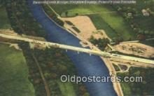 rds001052 - Dauphin County, PA USA Swatara Creek Bridge Road Side Postcard Post Cards