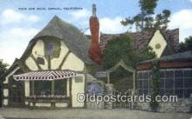 rds001057 - Carmel, California USA Tuck Box Shop Road Side Postcard Post Cards