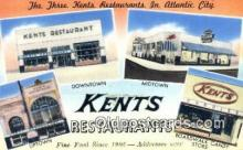 rds001058 - At lantic City, NJ USA Kents Restaurants Road Side Postcard Post Cards