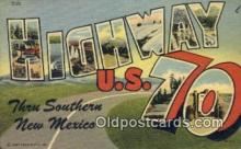 rds001060 - Highway U.S. 70 Road Side Postcard Post Cards